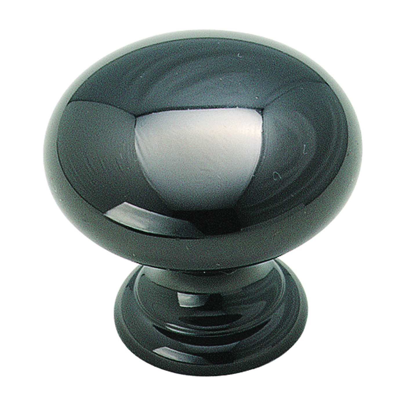 Picture of Amerock BP1950BNB Cabinet Knob, 1-1/8 in Projection, Brass, Black Nickel