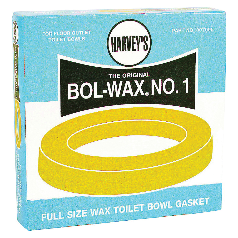 Picture of HARVEY 007005-48 Wax Ring, 5-1/2 in Dia, Brown, For: 3 in and 4 in Waste Lines
