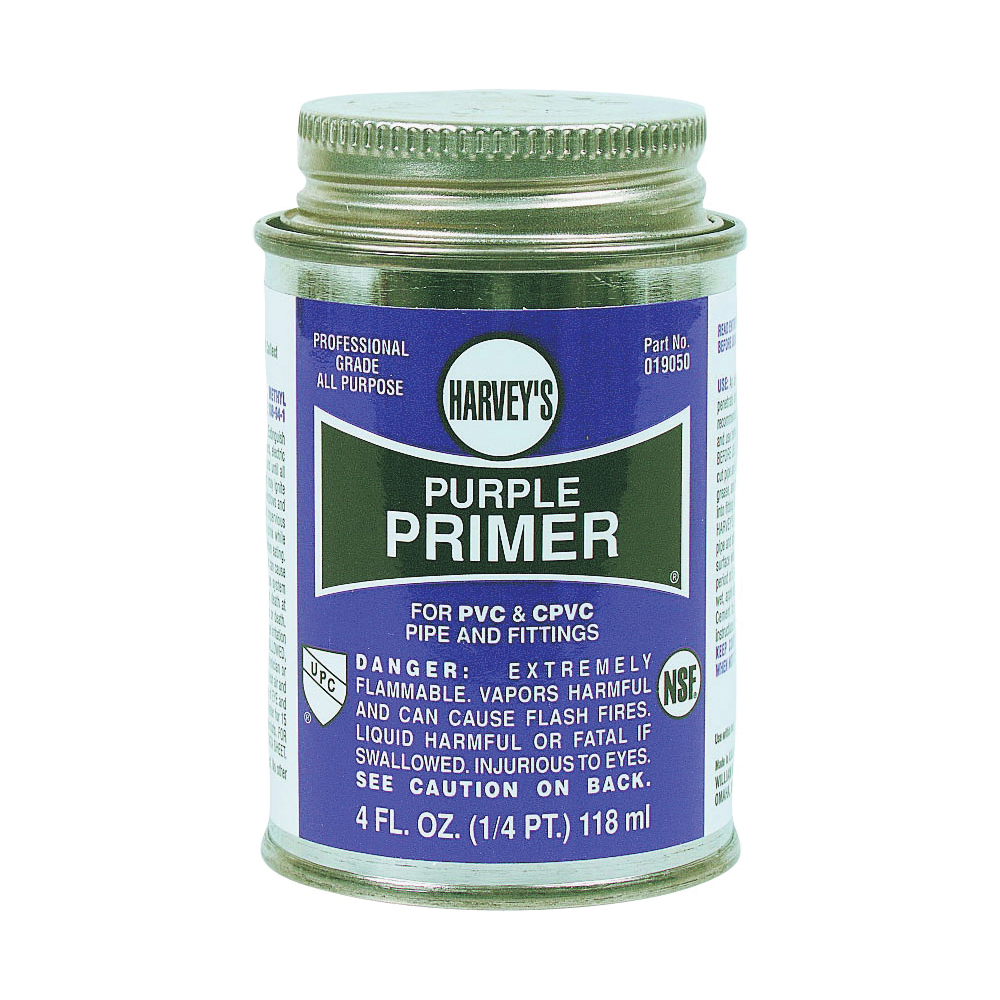 Picture of HARVEY 019050-24 Professional-Grade Primer, Liquid, Purple, 4 oz Package, Can