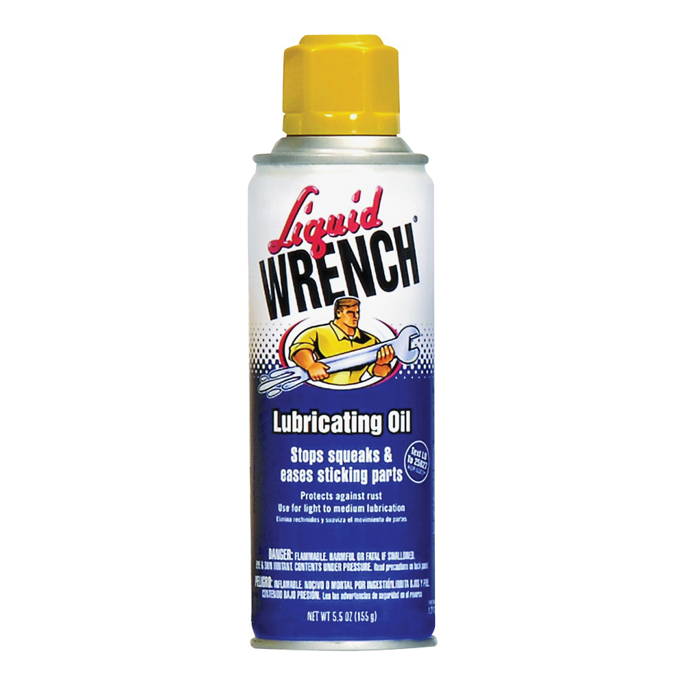 Picture of Liquid WRENCH L206 Lubricating Oil, 5.5 oz Package, Aerosol Can, Liquid, Sweet Vanilla