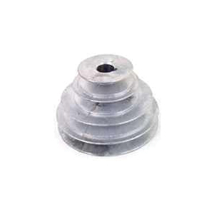 Picture of CDCO 141 5/8 V-Grooved Pulley, 2 in OD, 1/2 in W x 11/32 in Thick Belt, Zinc