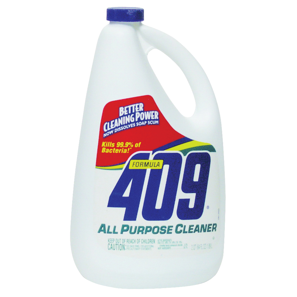 Picture of Clorox 00636 Cleaner, 64 oz Package, Bottle, Liquid, Citrus, Floral, Clear