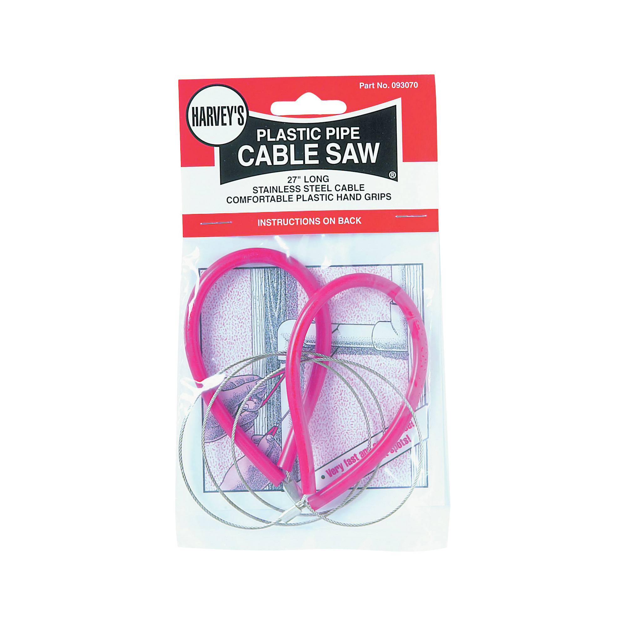 Picture of HARVEY 093070 Cable Saw, Plastic Handle