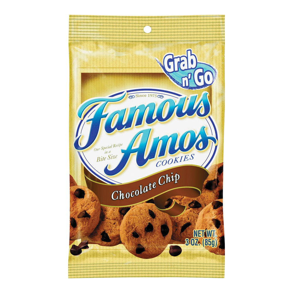 Picture of Famous Amos FACCC6 Cookies Bag, Chocolate Flavor, Bag
