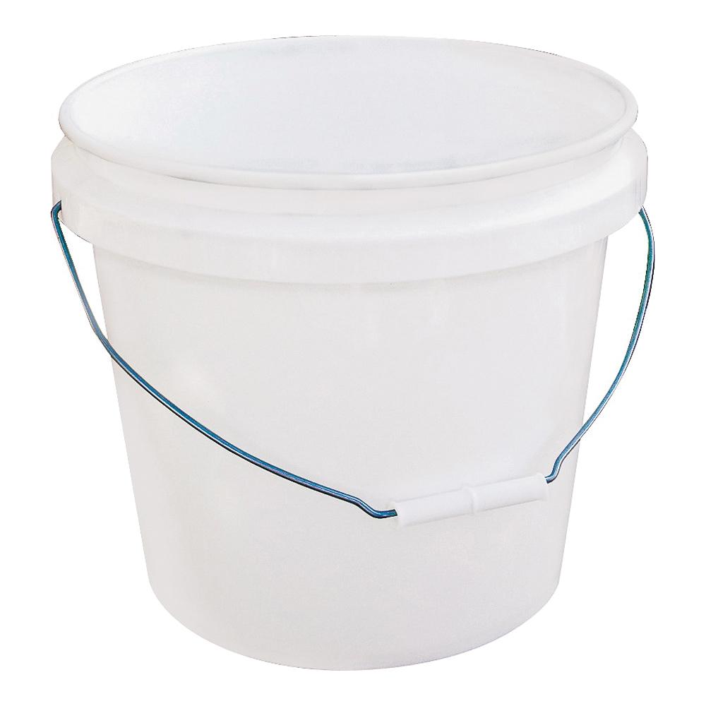 Picture of ENCORE Plastics 201215 Paint Bucket, 3.5 gal Capacity, Plastic, White
