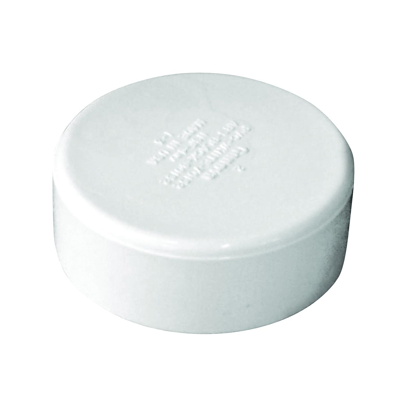 Picture of GENOVA 70152 Pipe Cap, 2 in, Hub, PVC, SCH 40 Schedule