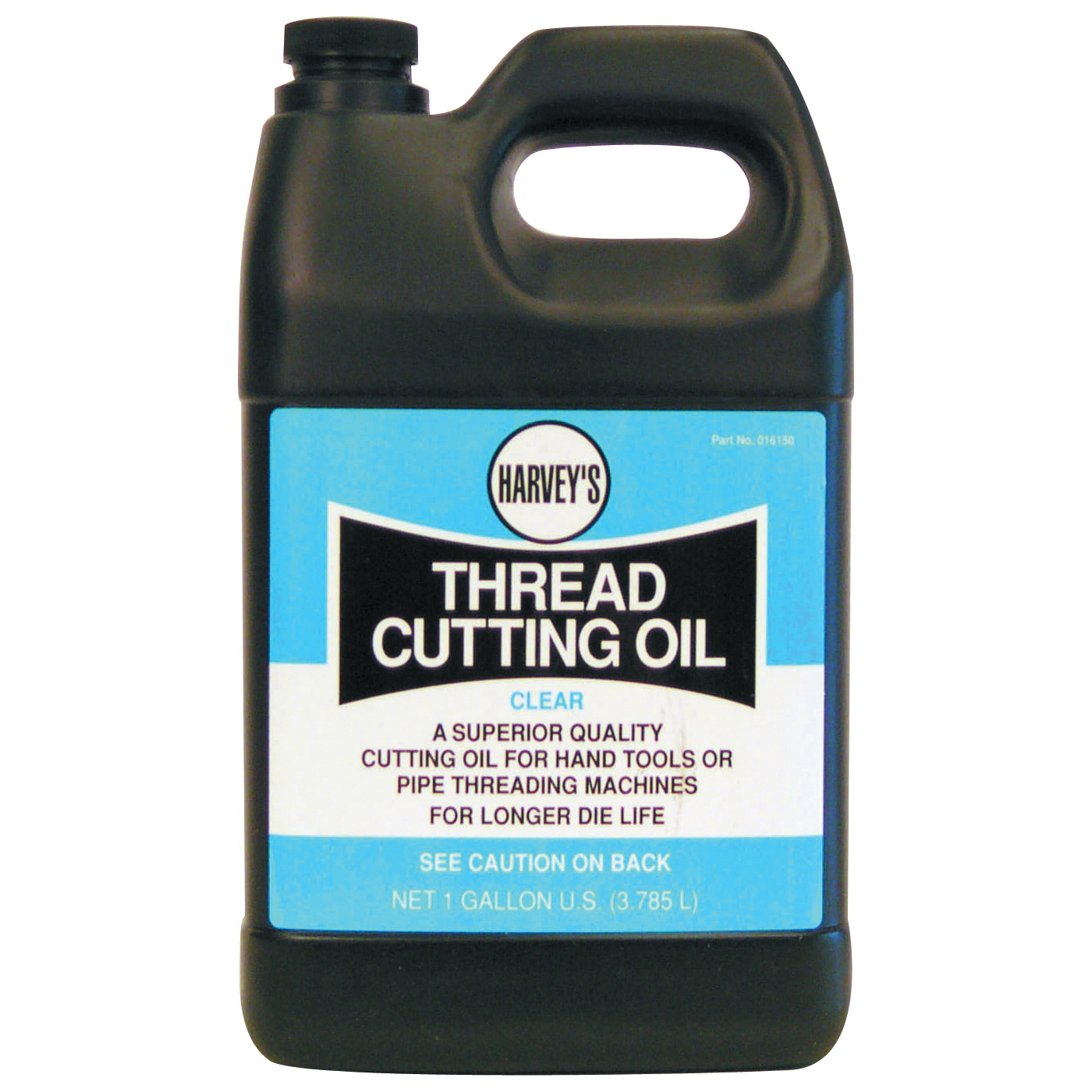 Picture of HARVEY 016150 Thread Cutting Oil, 1 gal Package, Jug, Clear