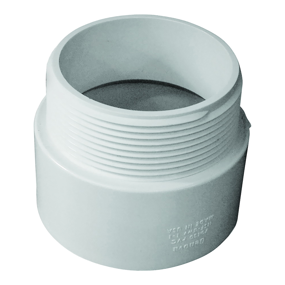 Picture of GENOVA 700 Series 70430 Pipe Adapter, 3 in Hub, 3 in MIP
