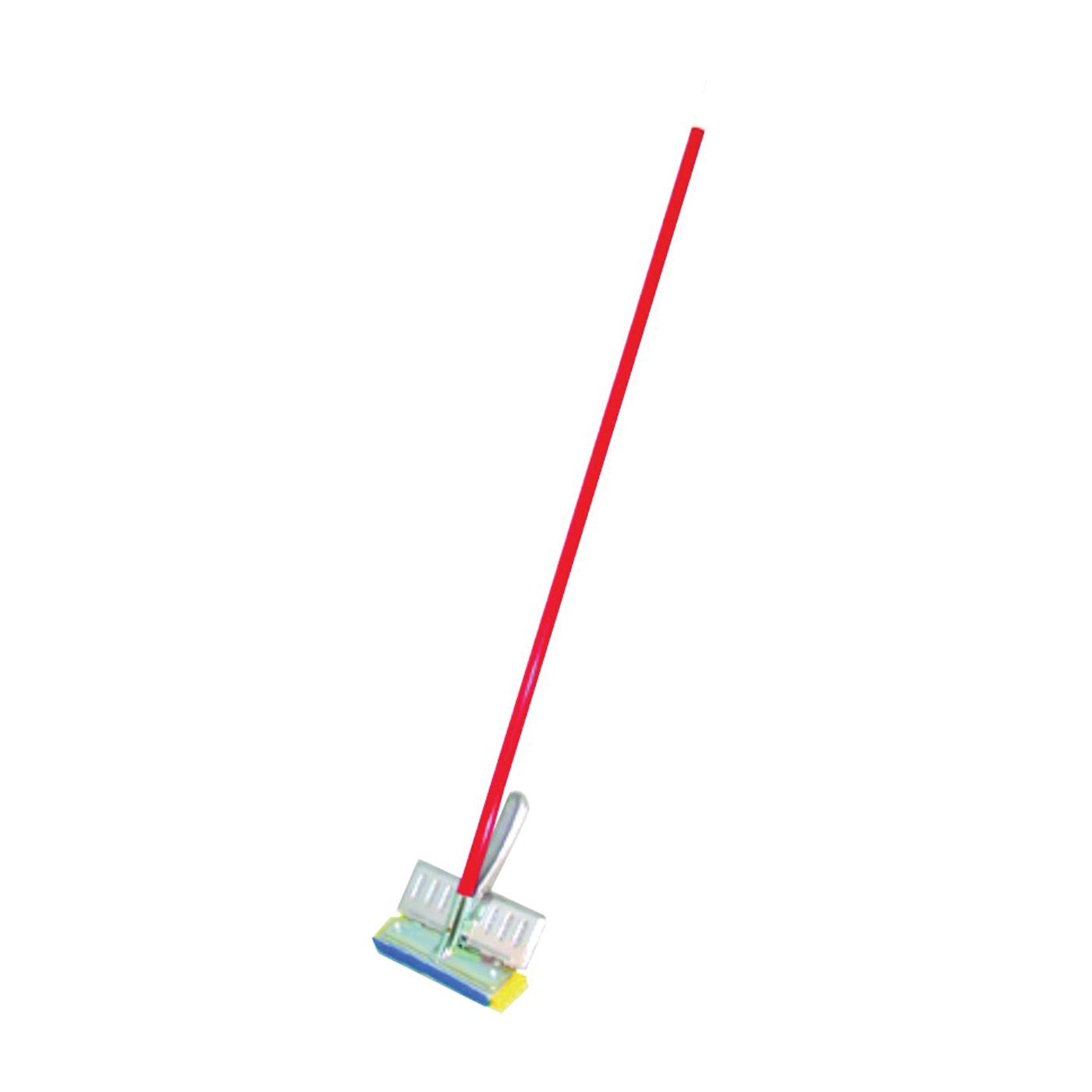 Picture of BIRDWELL 529-4 Sponge Mop, Cellulose Sponge Mop Head, Metal Handle