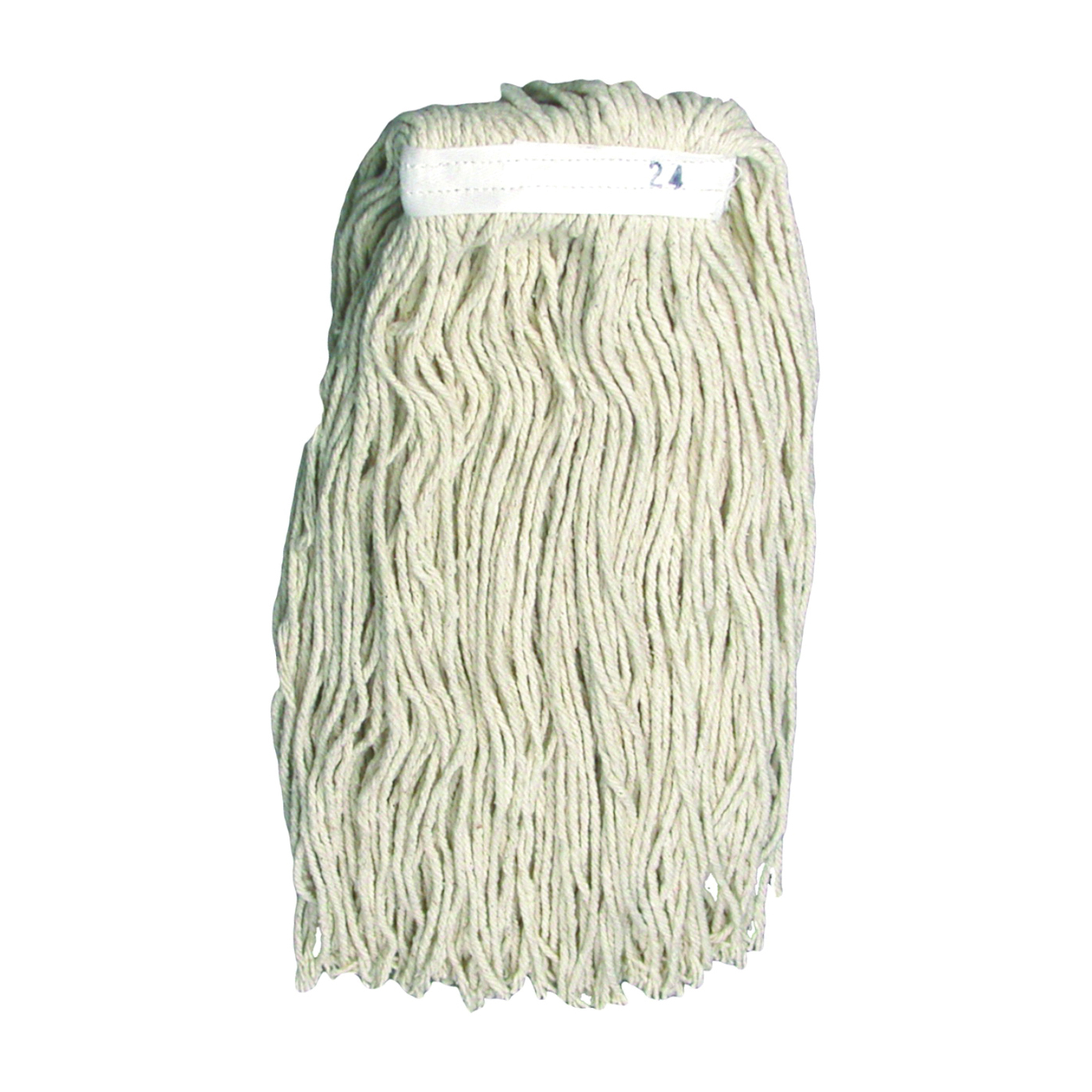 Picture of BIRDWELL 9051-12 Saddle Mop Head, 1-1/4 in Headband, Cotton