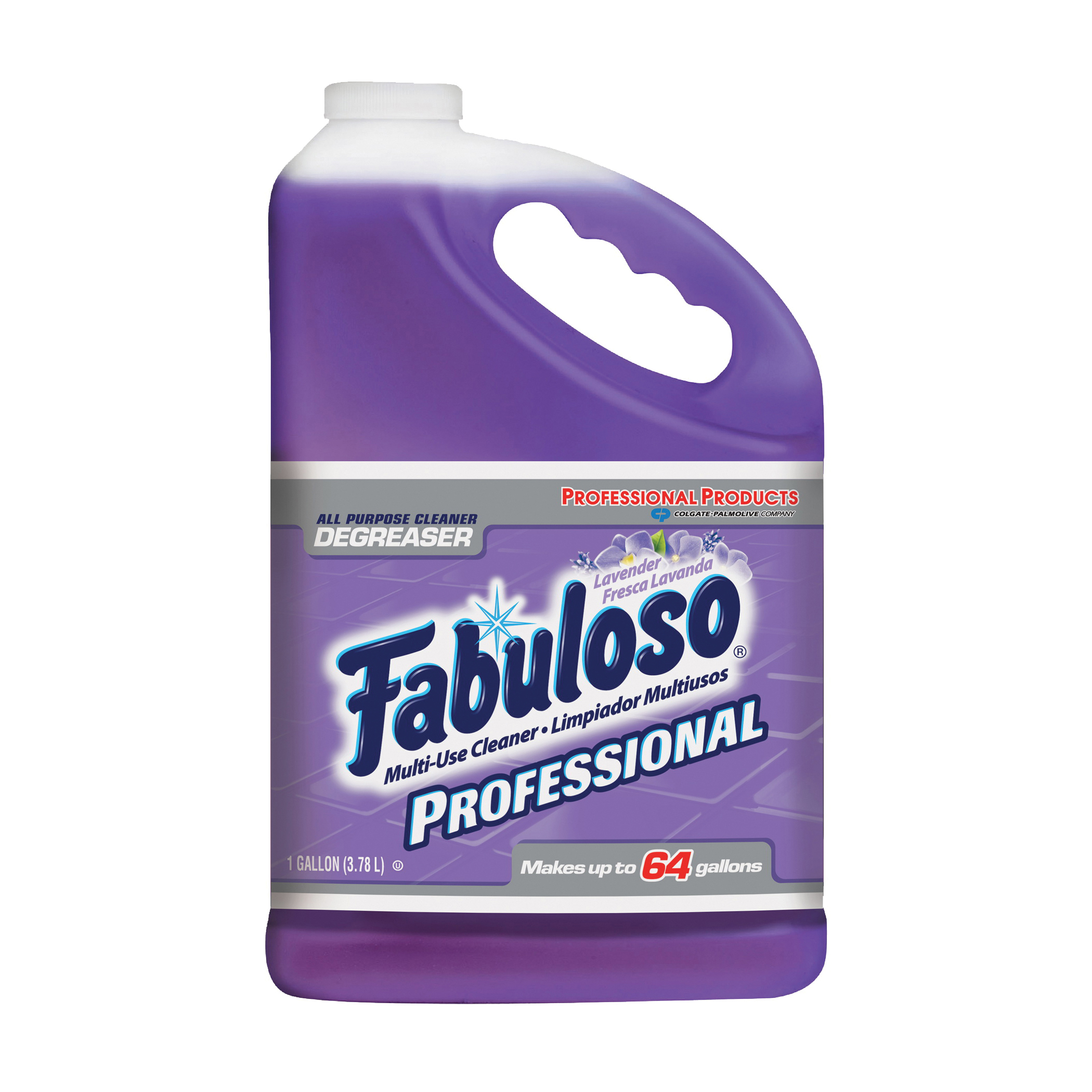 Picture of Fabuloso 04307 All-Purpose Cleaner, 1 gal Package, Bottle, Liquid, Lavender, Purple