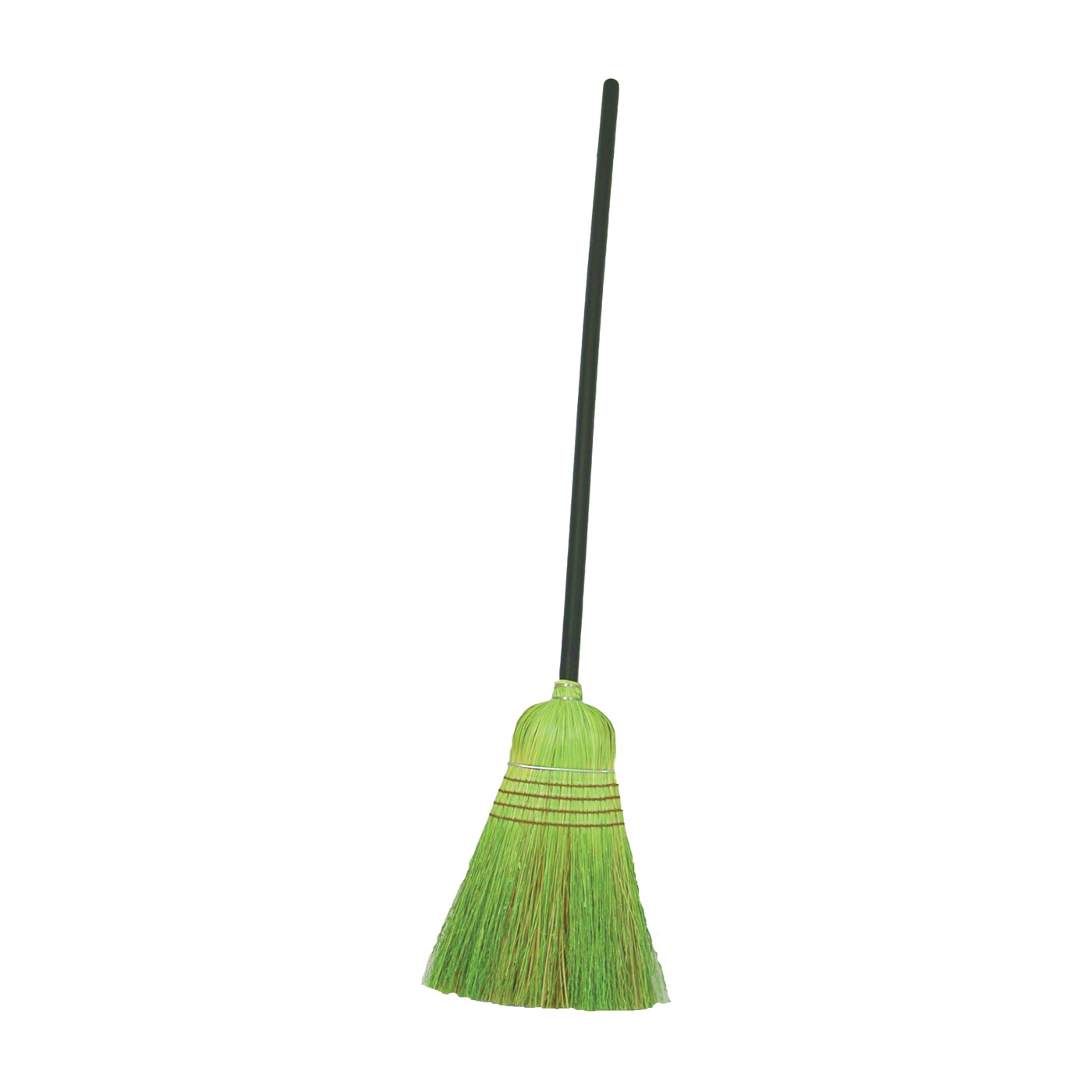 Picture of BIRDWELL 9332-4 Warehouse Broom, Sotol Fiber Bristle, Lacquered Wood Handle, Black