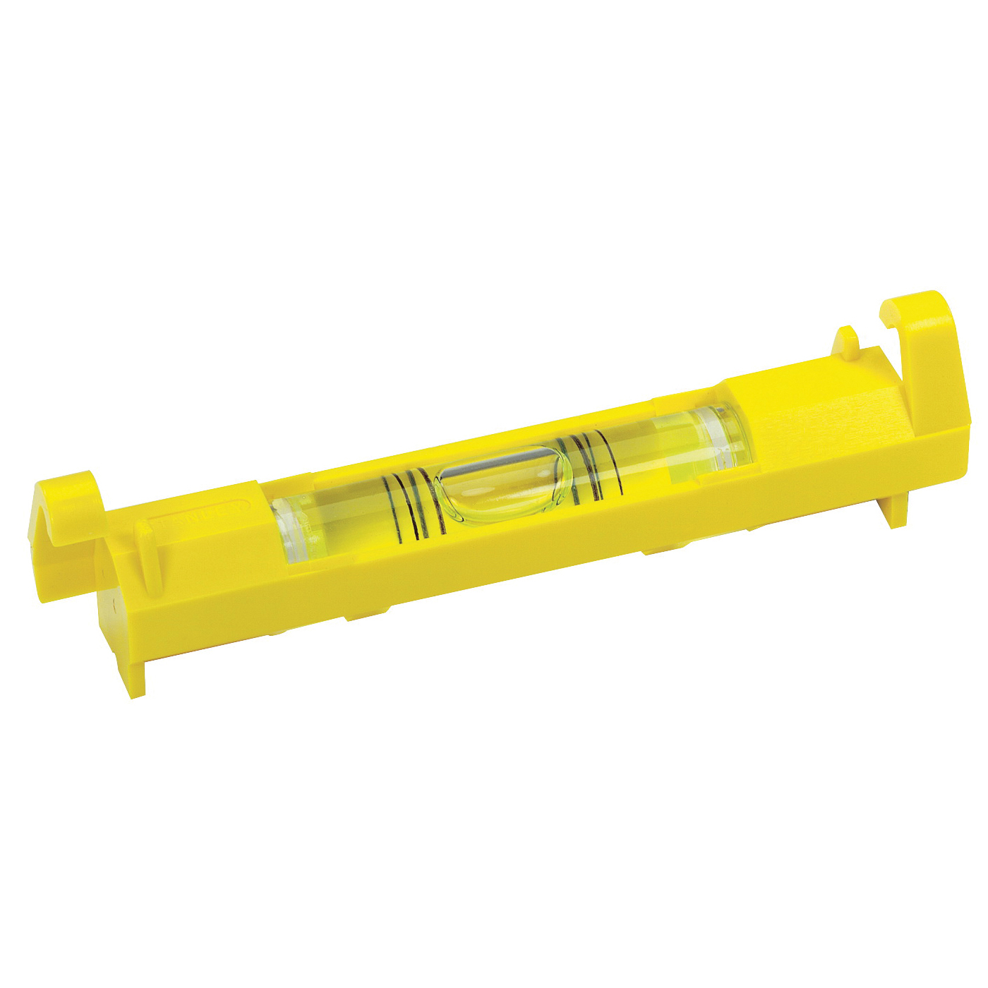 Picture of STANLEY 42-193 Line Level, 3-3/32 in L, 1 -Vial, 2 -Hang Hole, ABS, Yellow