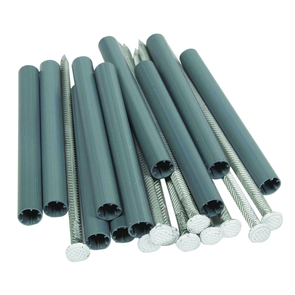 Picture of Amerimax 25043 Gutter Spike and Ferrule, Aluminum/Plastic, White
