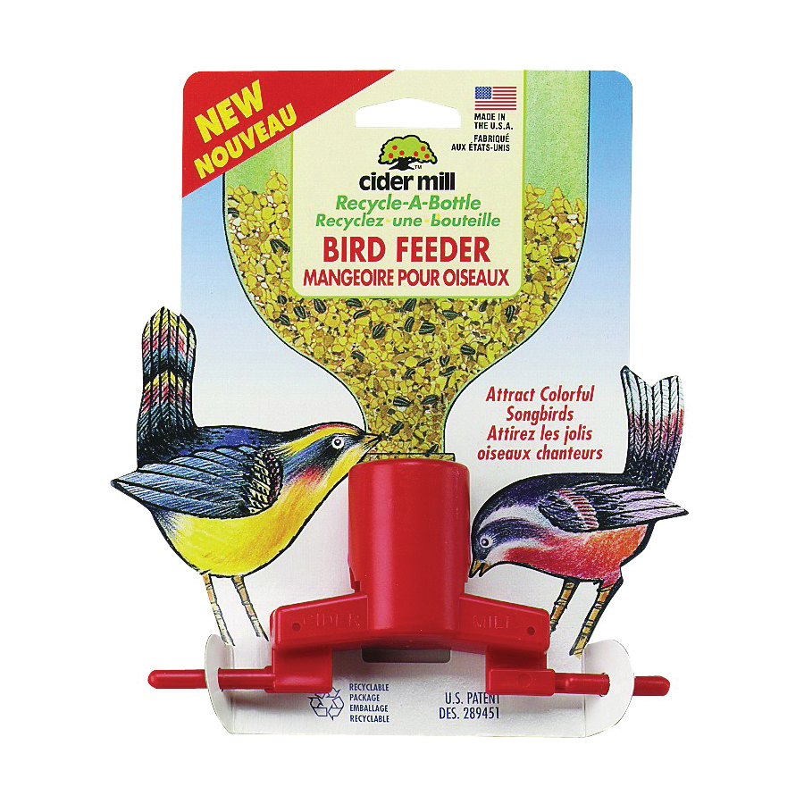 Picture of JW 3428945 Soda Bottle Bird Feeder, Hanging Mounting