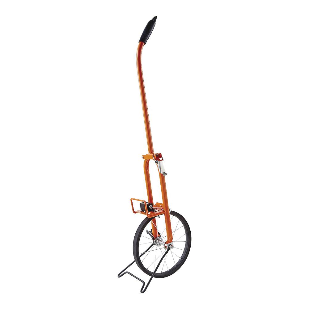 Picture of KESON MP301 Measuring Wheel, 9999.9 ft, 11-1/2 in Wheel, Rubber Wheel, Steel, Orange