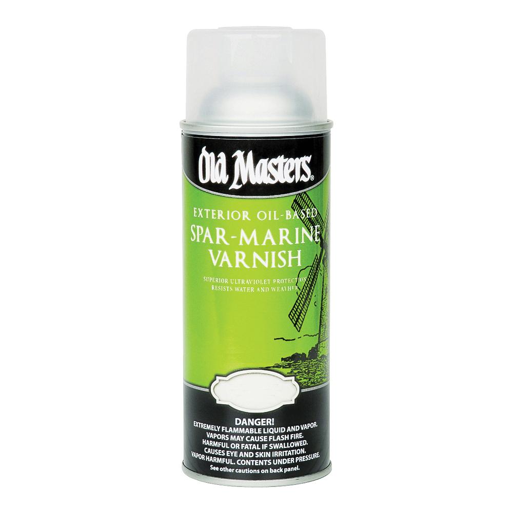 Picture of Old Masters 92310 Spar Marine Varnish, Satin, Liquid, 13 oz, Aerosol Can
