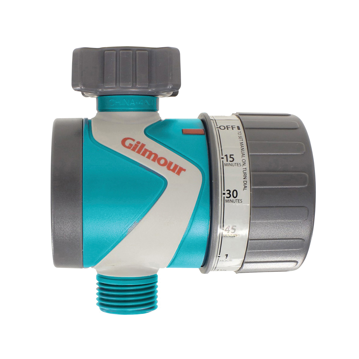 Picture of Gilmour 820054-1001 Mechanical Water Timer, 1 to 120 min, 15 to 120 psi Pressure