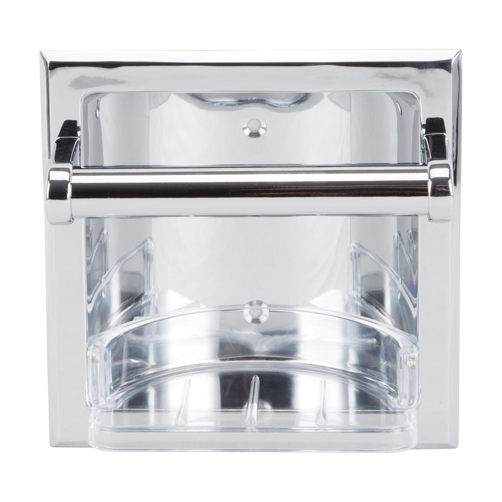 Picture of Boston Harbor CSC3L06 Soap Dish, Recessed Mounting, Metal