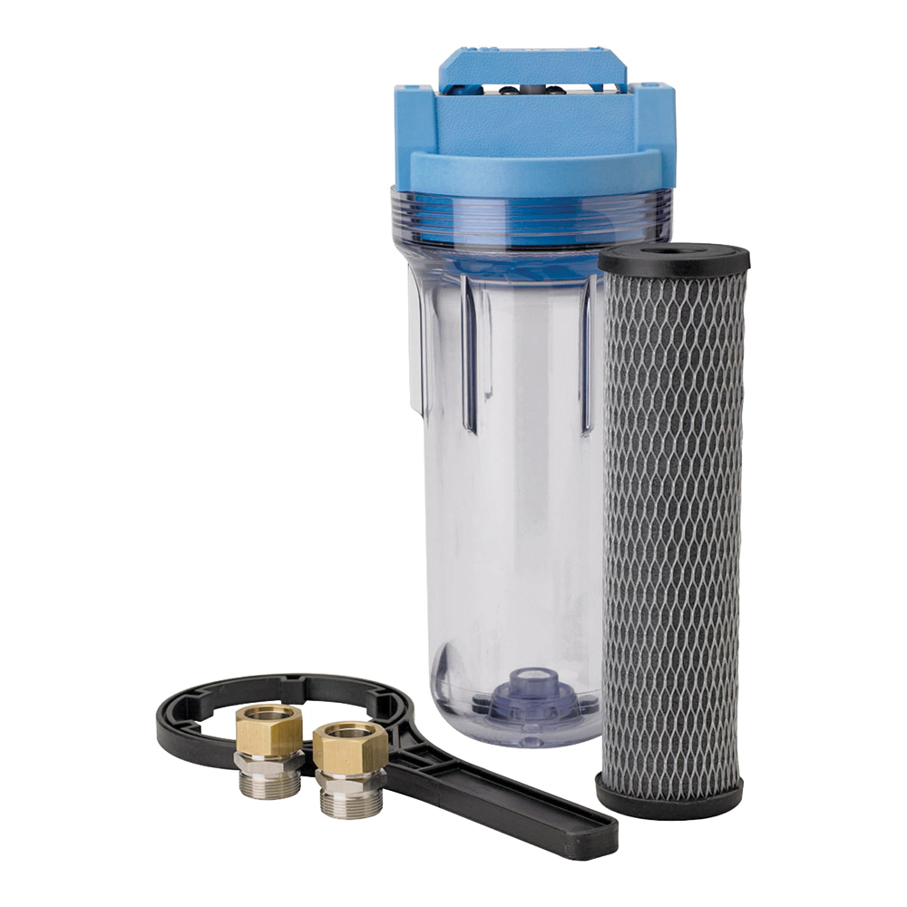 Picture of Pentair OMNIFilter U25-S-S18 Whole House Water Filter System, 15,000 gal Capacity, 5 gpm, 5 um Filtration