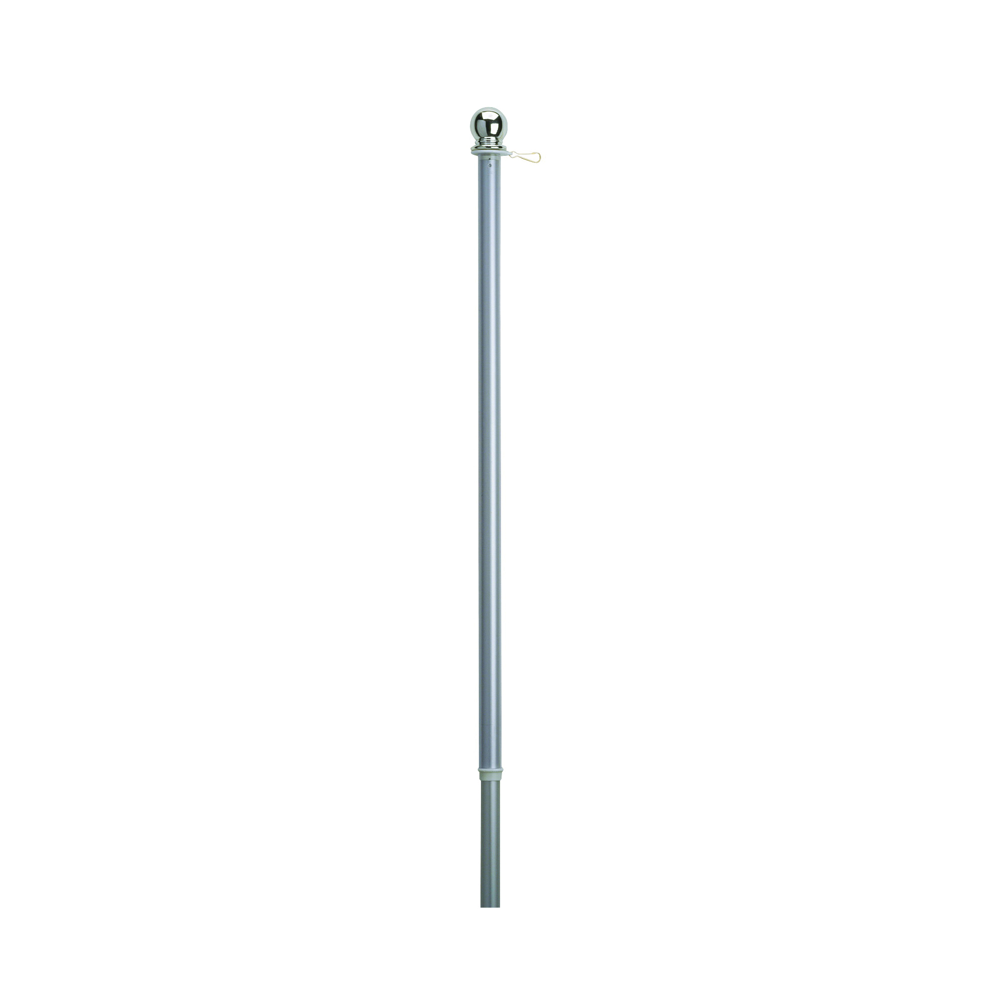 Picture of Valley Forge 60731 Flag Pole, 1 in Dia, Aluminum