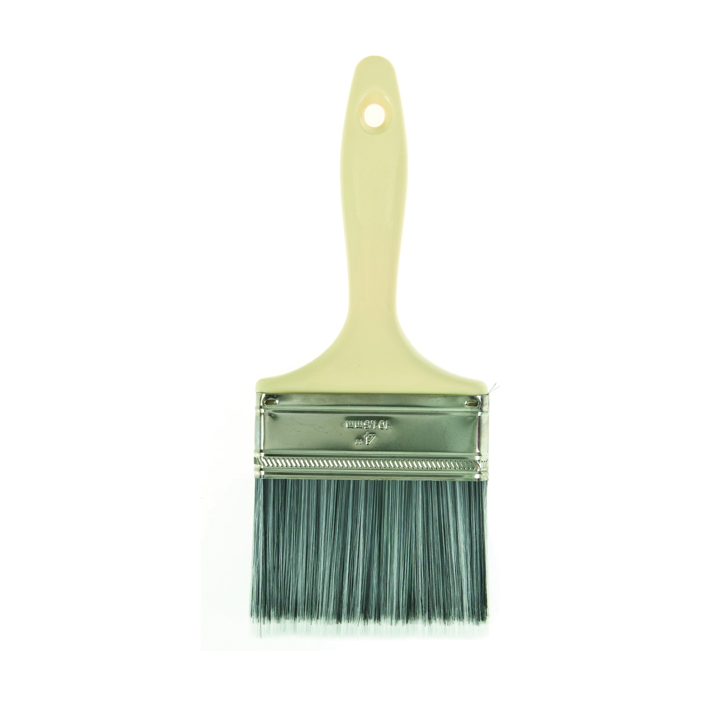 Picture of Linzer 1820-4 Paint Brush, 4 in W, 2-3/4 in L Bristle, Varnish Handle