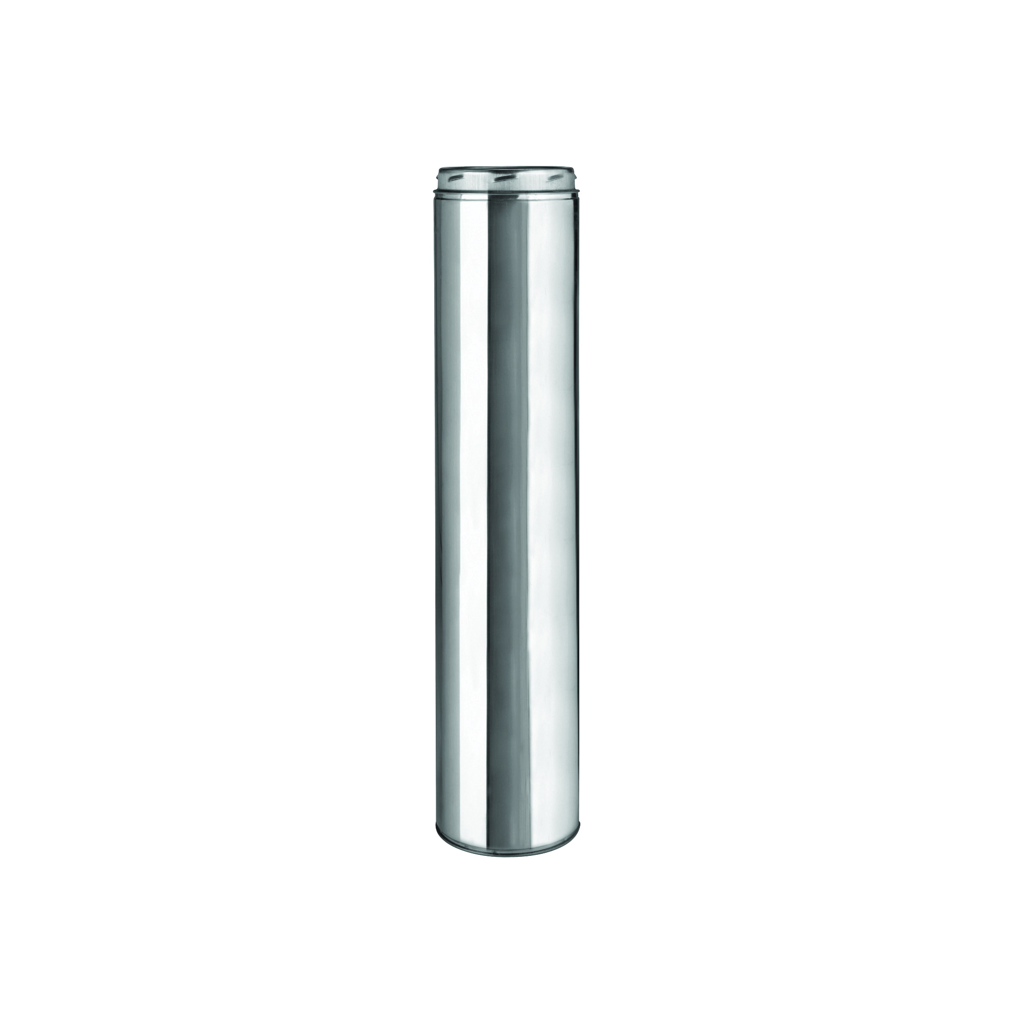 Picture of SELKIRK 208036 Chimney Pipe, 10 in OD, 36 in L, Stainless Steel