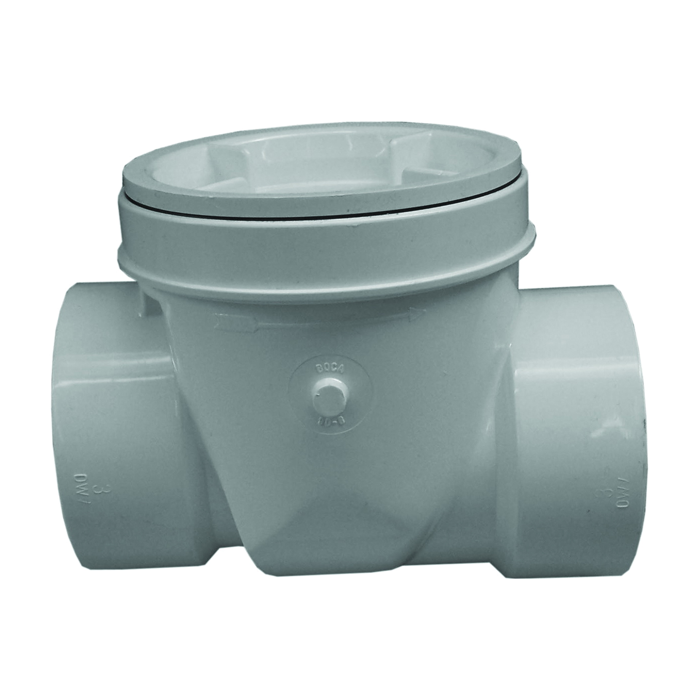 Picture of GENOVA 77640 Backwater Valve, 4 in Connection, PVC