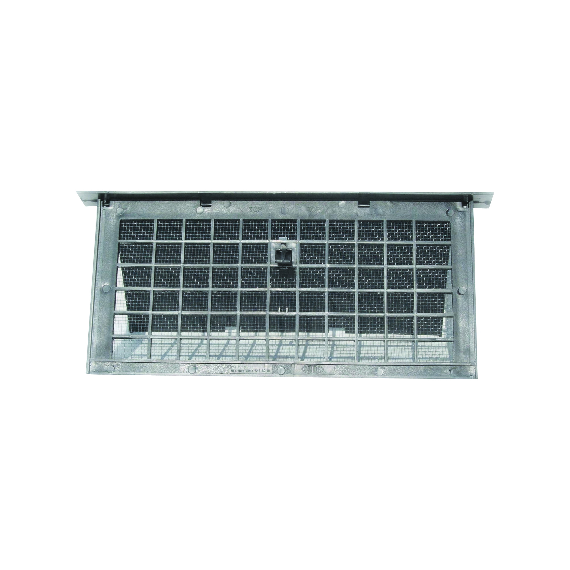 Picture of Bestvents PMD-1BLACK Foundation Vent, 72 sq-in Net Free Ventilating Area, Mesh Grill, Polypropylene, Black Oxide
