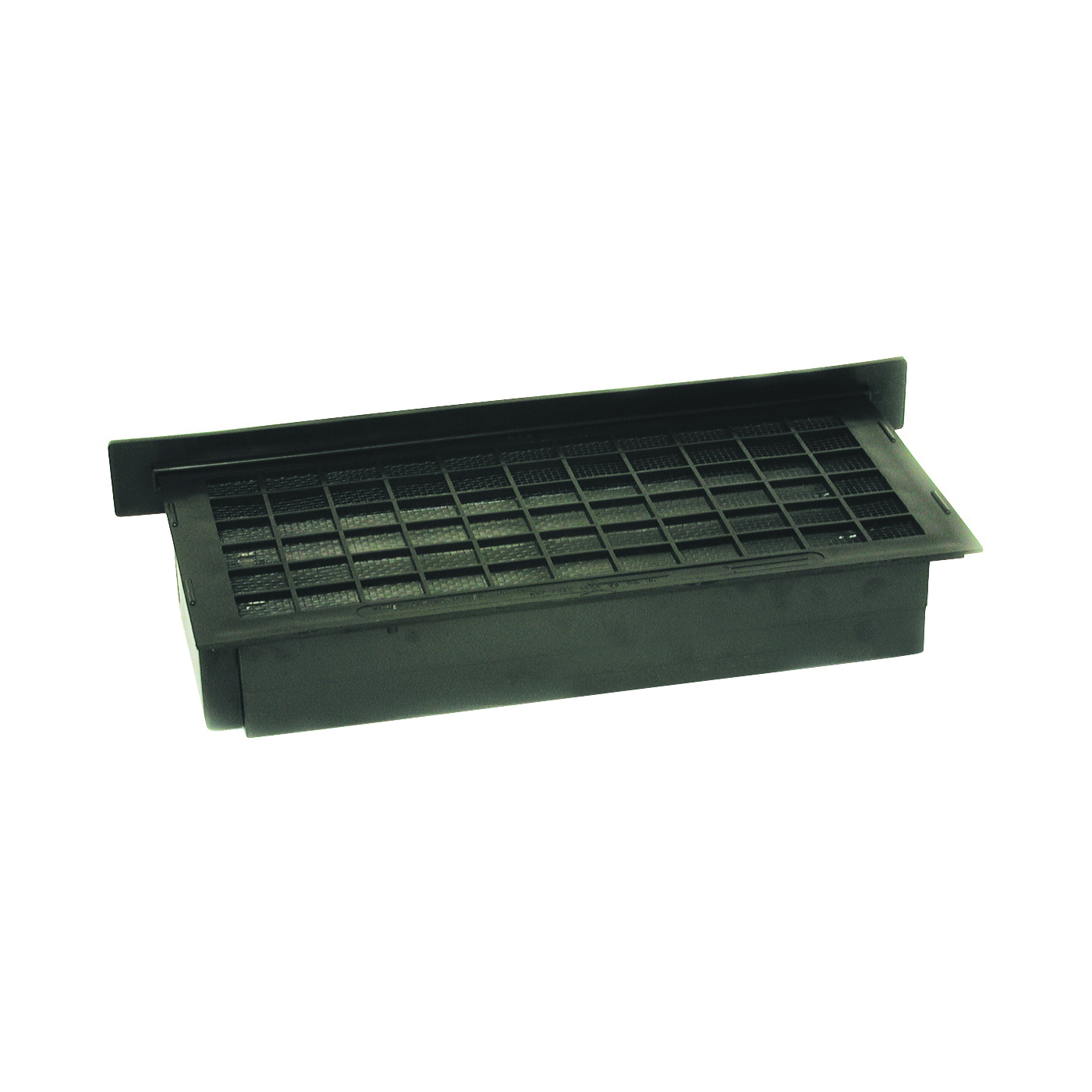 Picture of Bestvents A-ELBLACK Automatic Foundation Vent, 62 sq-in Net Free Ventilating Area, Mesh Grill, Thermoplastic