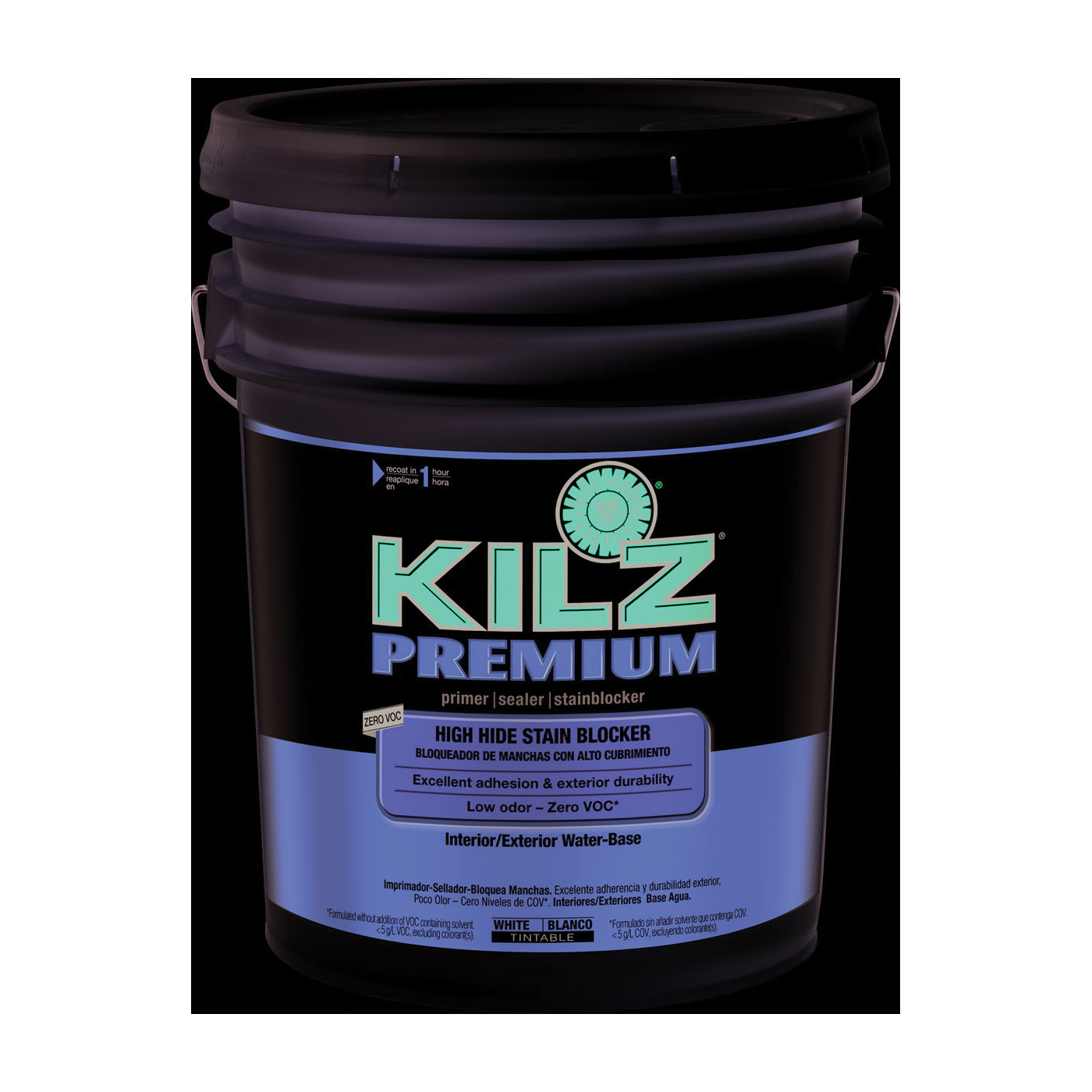 Picture of Kilz 13000 Sealer and Primer, White, 5 gal, Pail