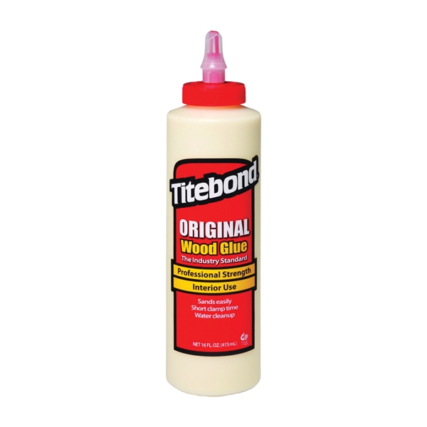 Picture of Titebond 5064 Wood Glue, Yellow, 16 oz Package, Bottle