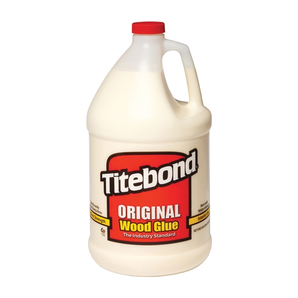 Picture of Titebond 5066 Wood Glue, Yellow, 1 gal Package, Bottle