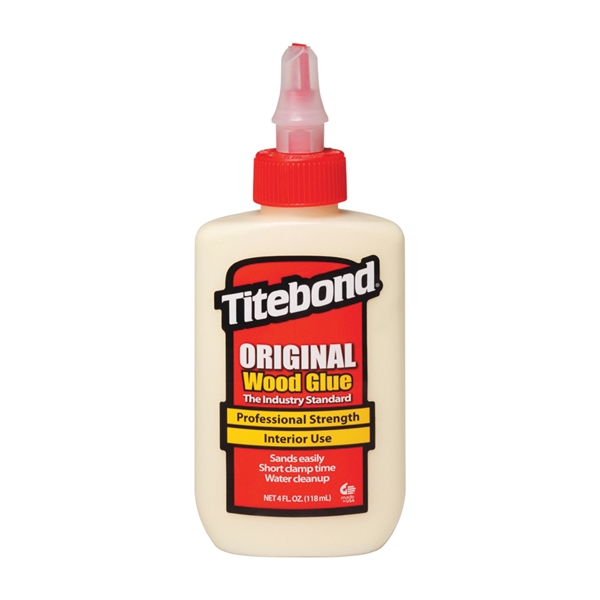 Picture of Titebond 5062 Wood Glue, Yellow, 4 oz Package, Bottle