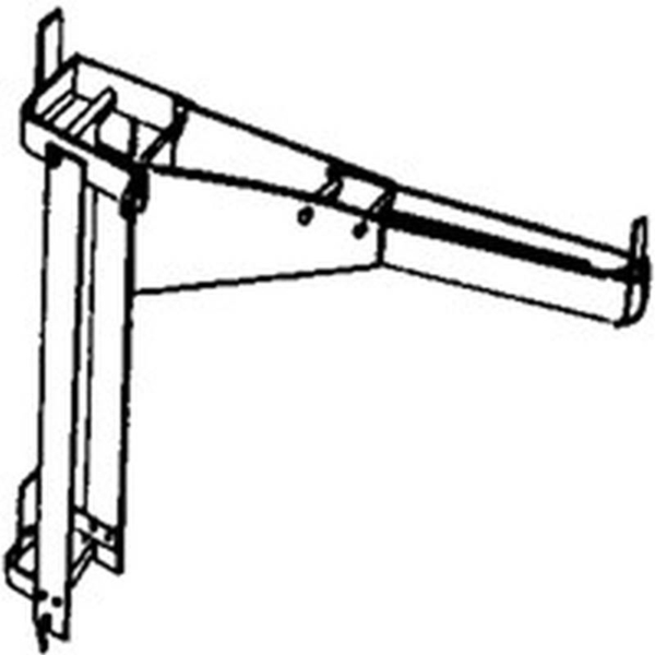 Picture of Qualcraft 2204 Workbench and Guard Rail Holder, For: Pump Jack System