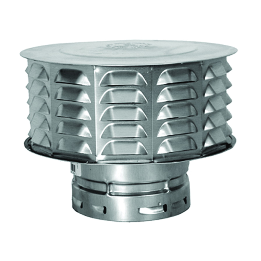 Picture of AmeriVent 4ECW Snap Lock Vent Cap, 4 in Connection