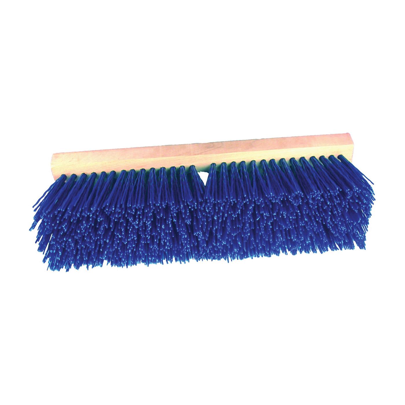 Picture of BIRDWELL 3015-6 Street Broom Head, 4-1/4 in L Trim, Polypropylene Bristle, Blue