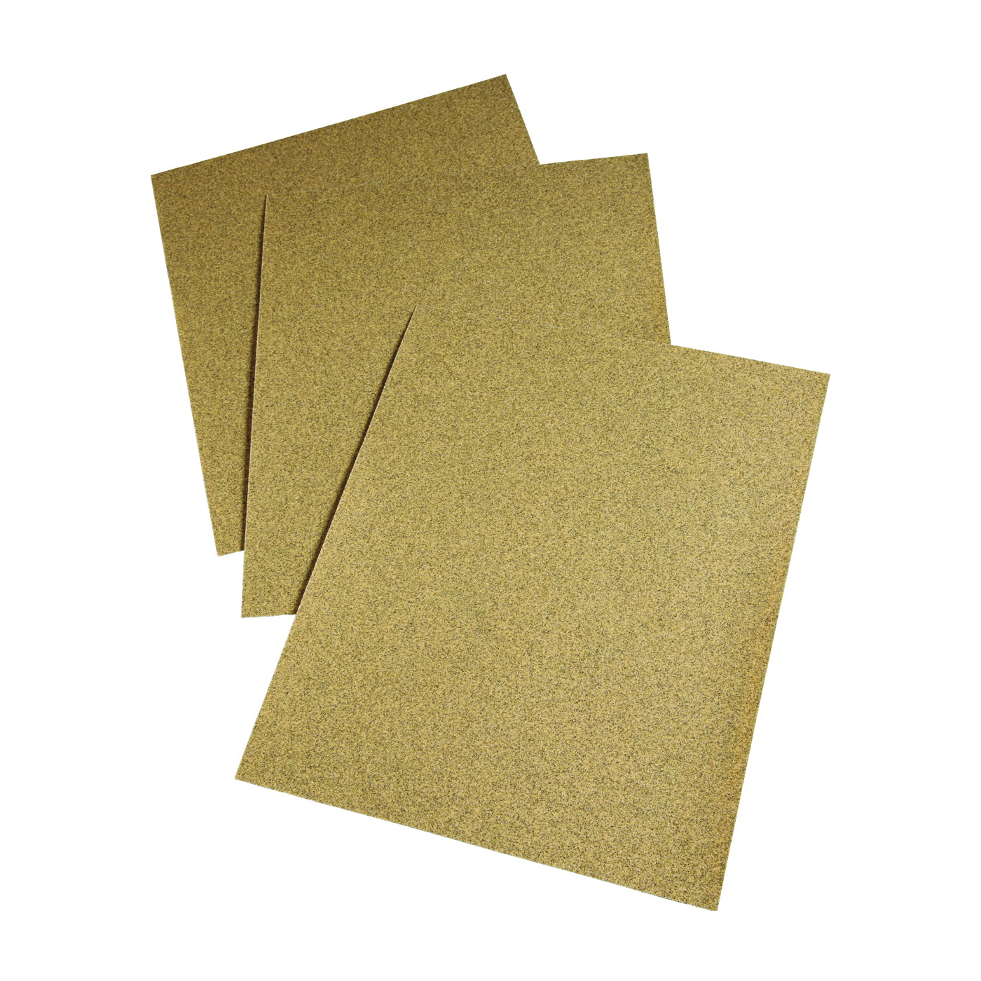 Picture of 3M 02118 Sanding Sheet, 11 in L, 9 in W, Coarse, 40 Grit, Aluminum Oxide Abrasive, Paper Backing