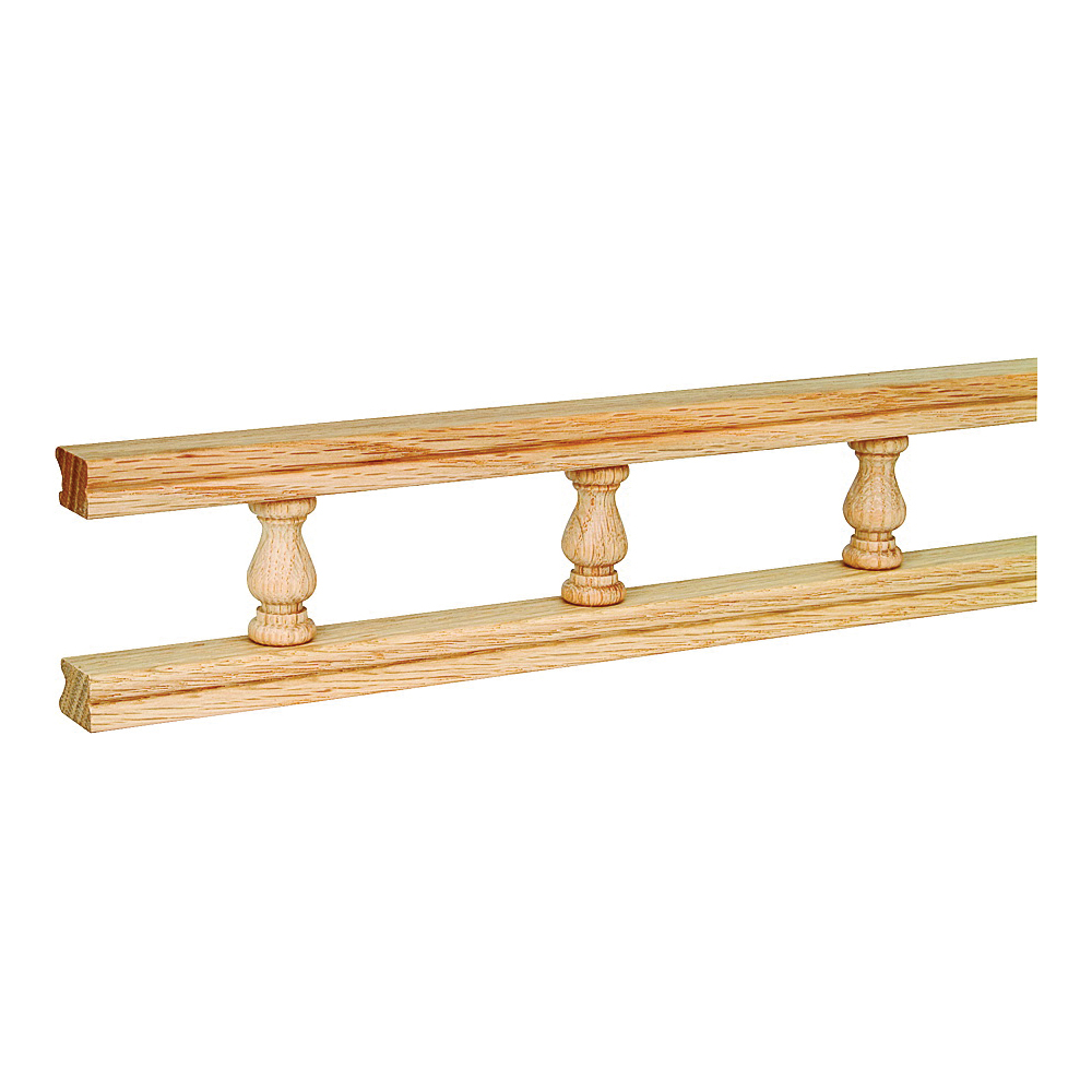 Picture of Waddell 5506 OAK Galley Rail, 6 ft L, 2-1/2 in W, Natural