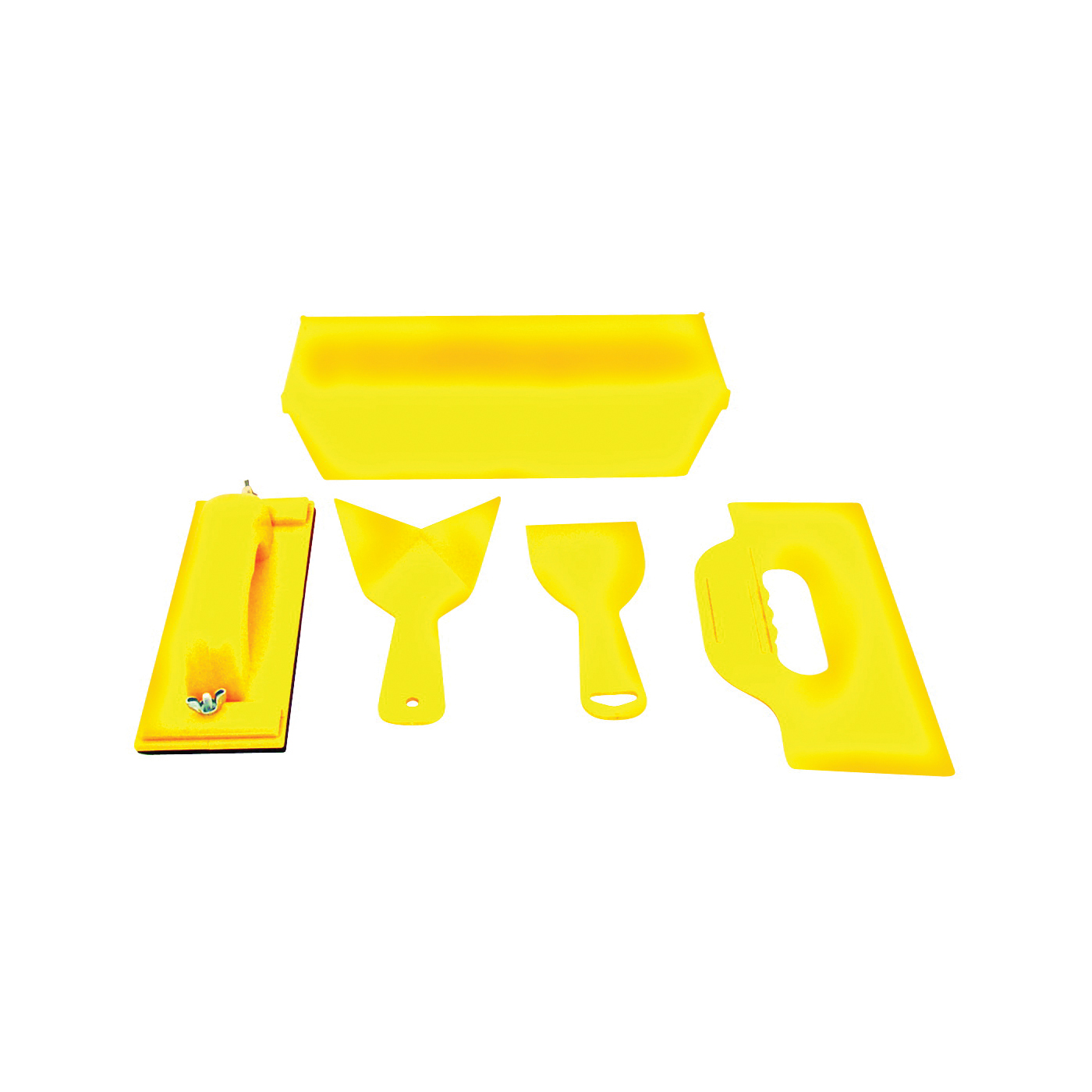 Picture of Homax 00089 Drywall Taping Kit, Yellow