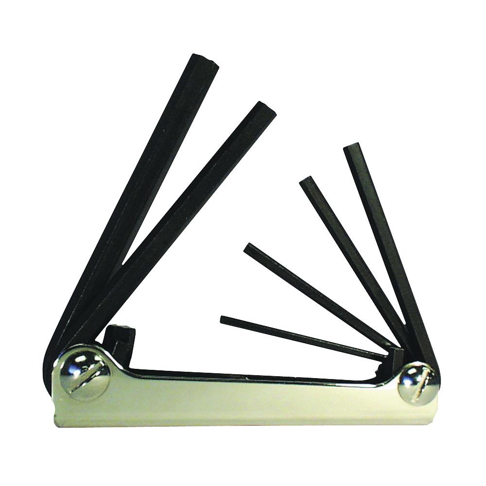 Picture of Eklind 21151 Hex Key Set, 6 -Piece, Steel, Black