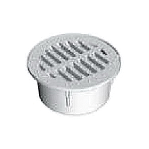 Picture of DrainTech 0440SDG Drain Grate, 4-9/16 in Dia, Round, Polyethylene, Green