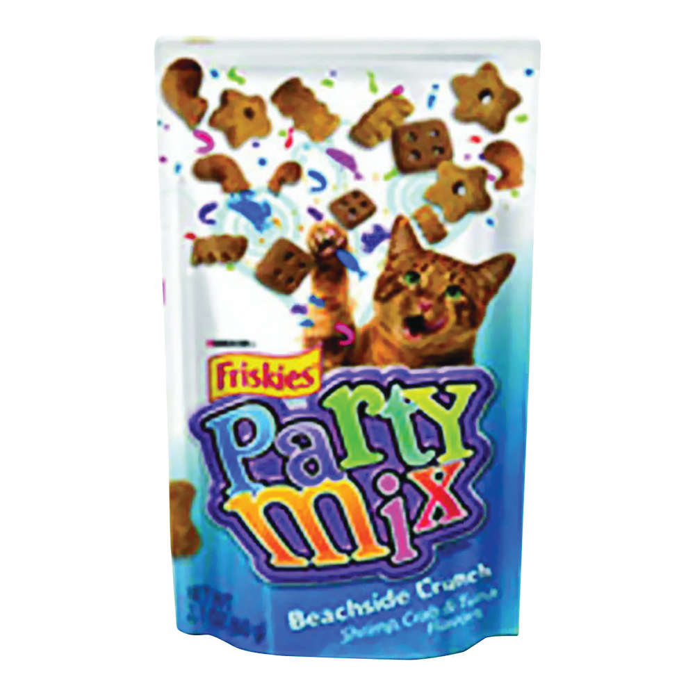Picture of Friskies Party Mix 5000057444 Cat Treats, Tuna Flavor, 2.1 oz Package