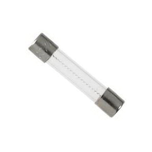 Picture of Bussmann BP/AGC-2-RP Fast-Acting Fuse, 2 A, 250 V, 10 kA at 125 VAC, 100 A at 250 VAC Interrupt, Glass Body, G