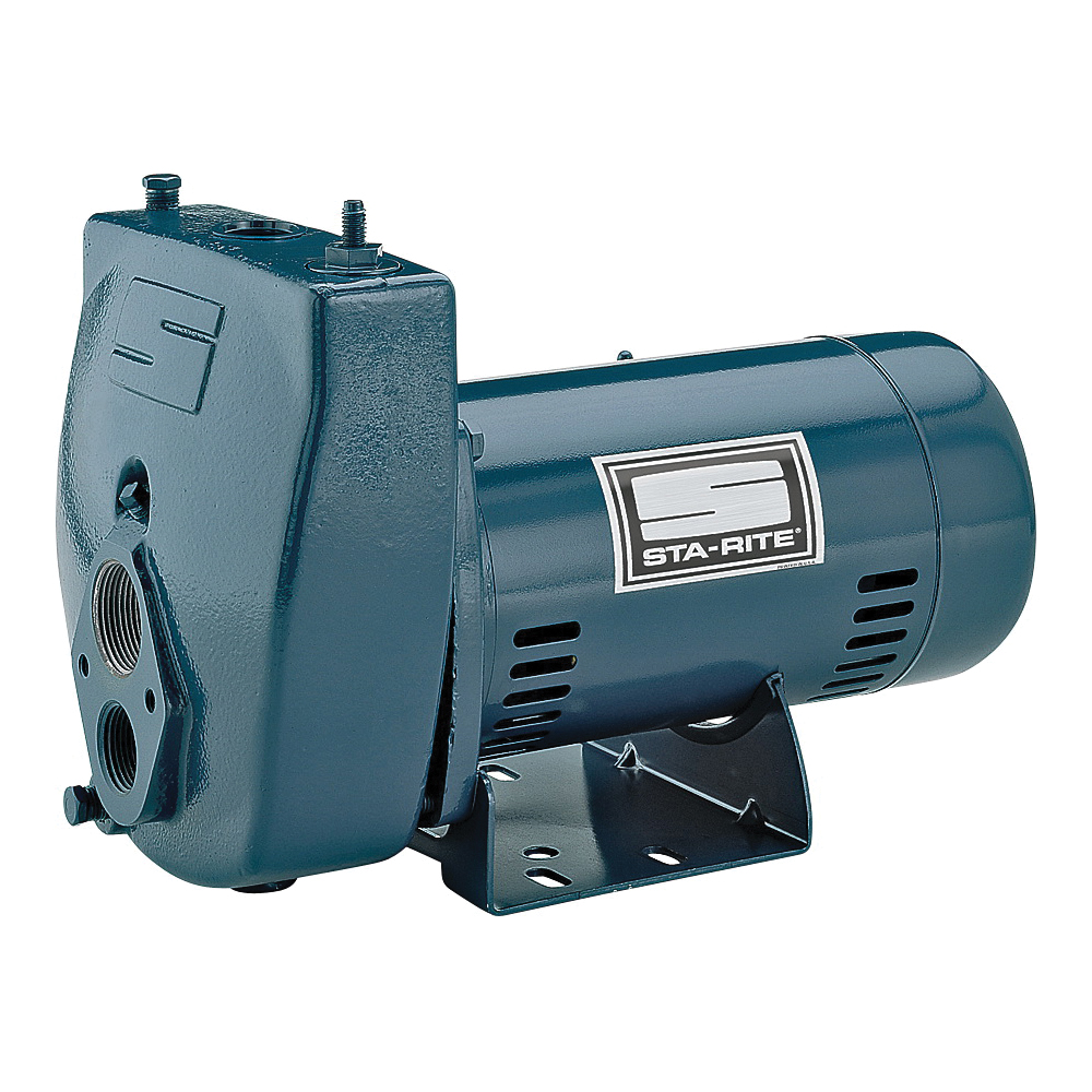 Picture of Sta-Rite ProJet SLC-L Jet Pump, 1-Phase, 9.9/4.9 A, 115/230 V, 0.5 hp, 1-1/4 in Suction, 1 in Discharge Connection