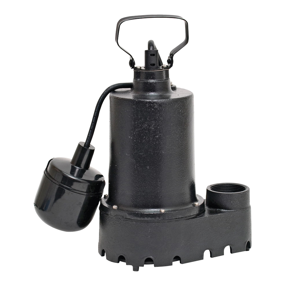 Picture of SUPERIOR PUMP 92331 Sump Pump, 4.1 A, 120 V, 0.33 hp, 1-1/2 in Outlet, 46 gpm, Iron