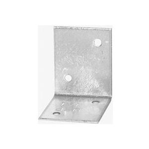 Picture of MiTek JA1 Framing Angle, 1-1/2 in W, 1-1/2 in D, 1-1/4 in H, Steel, G90 Galvanized