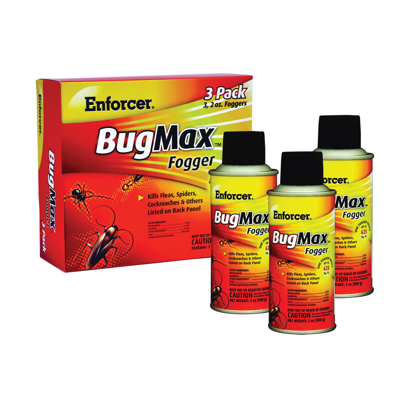 Picture of Enforcer BugMax EBMFOG2 Insect Fogger, 2000 cu-ft Coverage Area, Opaque White