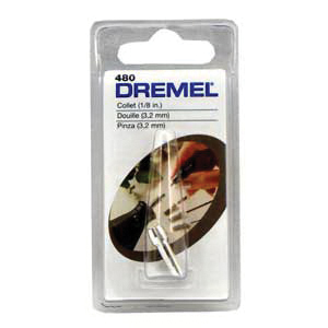Picture of DREMEL 480 Collet, Metal, For: #245, #250, Series 3 Engraver Rotary Hobby Tool