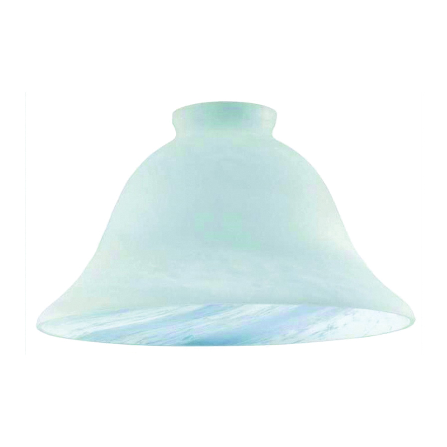 Picture of Westinghouse 8133300 Light Shade, Wide Bell, Glass, White